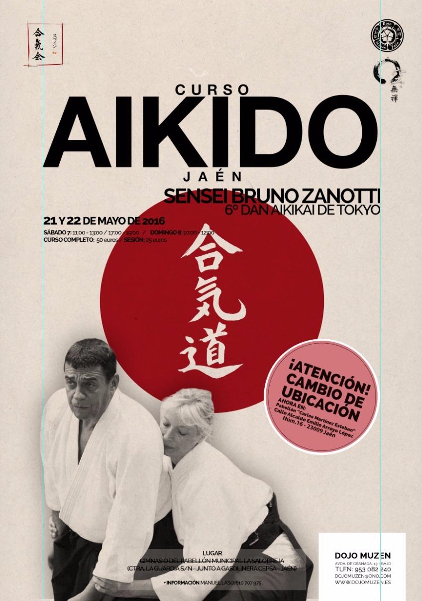 Seminario Aikido Jaen Bruno Zanotti Shihan