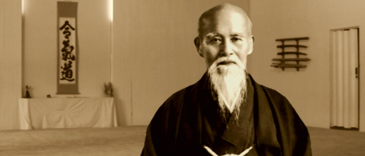 Morihei Ueshiba, O'Sensei, fundador del Aikidô :: Heijoshin Aikido sevilla